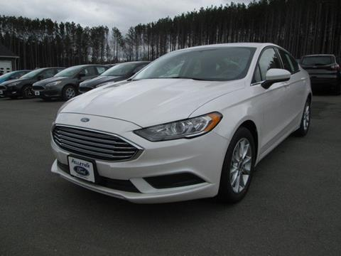 2017 Ford Fusion for sale in Fort Kent, ME