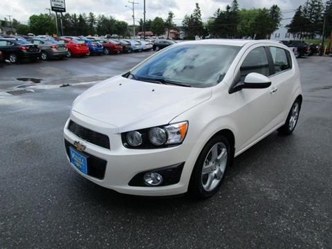 2014 Chevrolet Sonic for sale in Fort Kent, ME