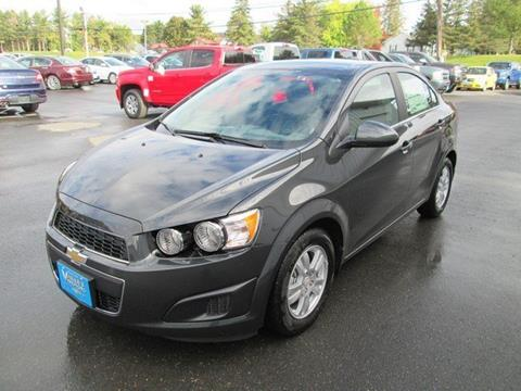2016 Chevrolet Sonic for sale in Fort Kent ME