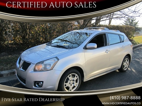 2009 Pontiac Vibe for sale in Millersville, MD