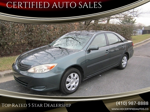 Certified Auto Sales >> Certified Auto Sales Car Dealer In Millersville Md
