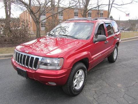 2002 Jeep Grand Cherokee for sale at CERTIFIED AUTO SALES in Severn MD