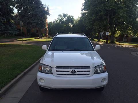 2006 Toyota Highlander for sale in Denver, CO