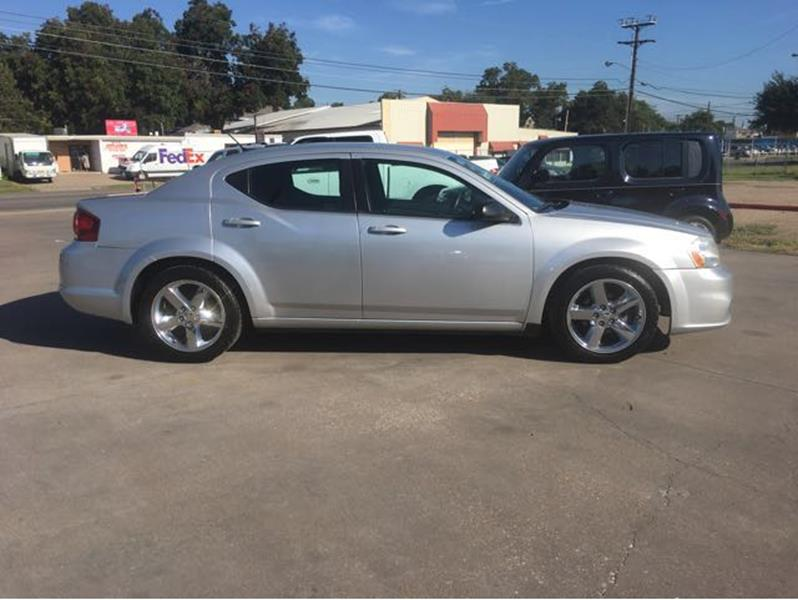 2012 Dodge Avenger SE 4dr Sedan In Waco TX  The Car Barn