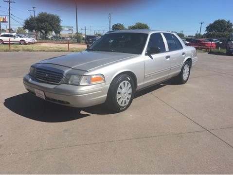 2010 Ford Crown Victoria for sale in Waco, TX