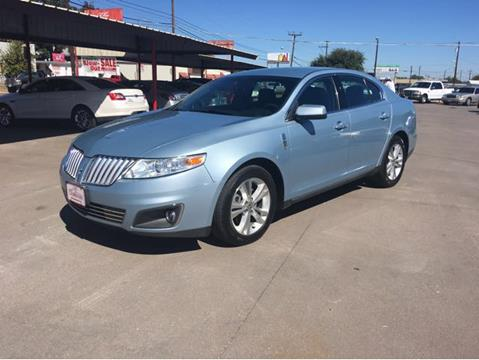 2009 Lincoln MKS for sale in Waco, TX