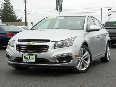 2016 Chevrolet Cruze Limited for sale in Tacoma, WA