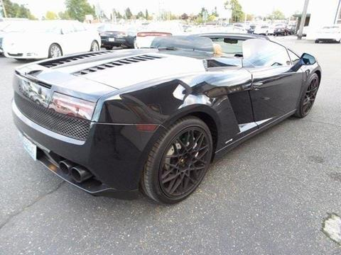 2010 Lamborghini Gallardo for sale in Tacoma, WA
