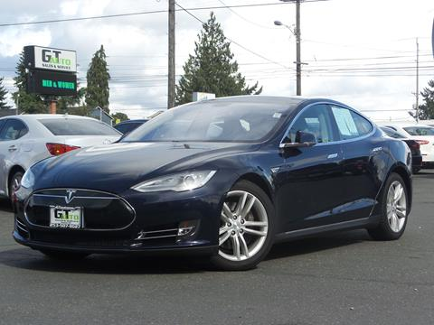2014 Tesla Model S for sale in Tacoma, WA