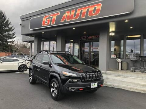 2018 Jeep Cherokee for sale at GT Auto Sales & Service in Tacoma WA