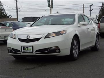 2013 Acura TL for sale in Tacoma, WA