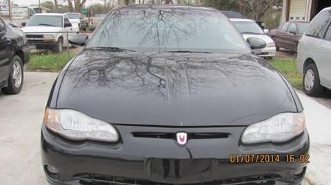 2000 Chevrolet Monte Carlo for sale in Alvin, TX