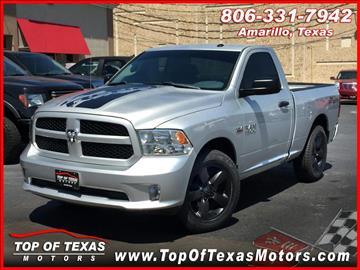 2013 RAM Ram Pickup 1500 for sale in Amarillo, TX