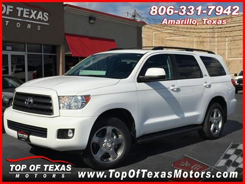 2013 Toyota Sequoia for sale in Amarillo, TX