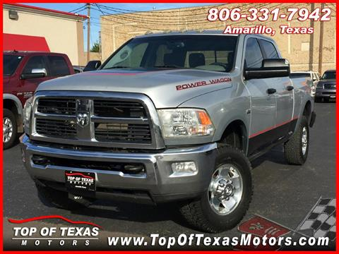 2011 RAM Ram Pickup 2500 for sale in Amarillo, TX