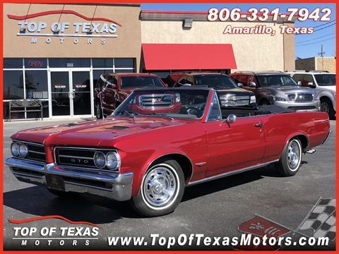 1964 Pontiac GTO for sale in Amarillo, TX