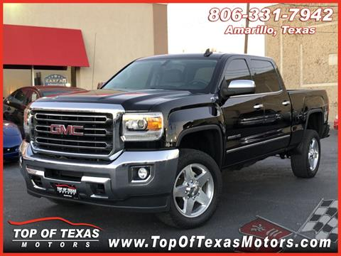 2015 GMC Sierra 2500HD for sale in Amarillo, TX