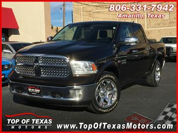 2013 RAM Ram Pickup 1500 for sale in Amarillo, TX