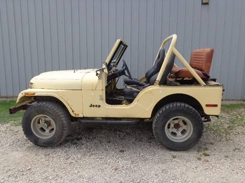 1980 Jeep CJ-5 for sale in Coffeyville, KS