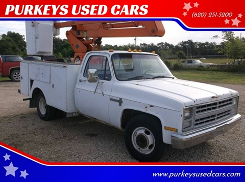 1986 Chevrolet C/K 30 Series for sale in Coffeyville, KS