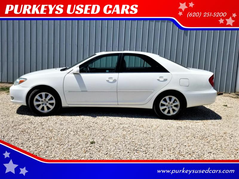 2003 toyota camry xle 4dr sedan in coffeyville ks purkeys used cars purkeys used cars