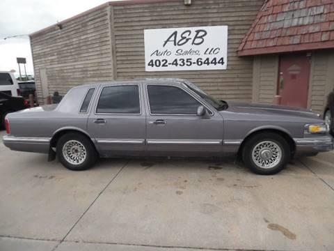 1996 Lincoln Town Car for sale in Lincoln, NE