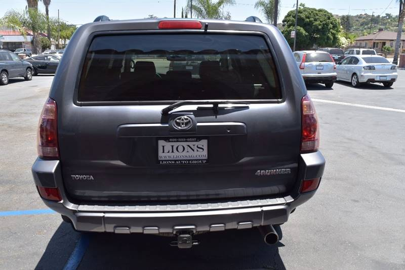 2005 Toyota 4Runner for sale at Lions Auto Group in La Puente CA