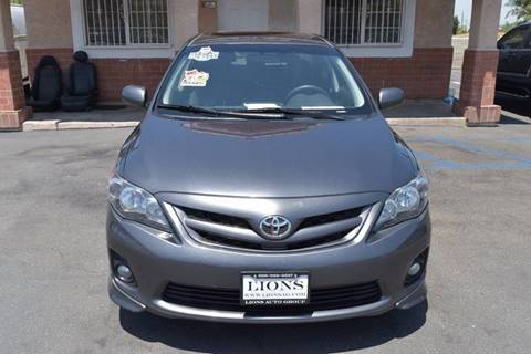 2011 Toyota Corolla for sale at Lions Auto Group in La Puente CA