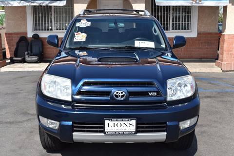 2004 Toyota 4Runner for sale at Lions Auto Group in La Puente CA