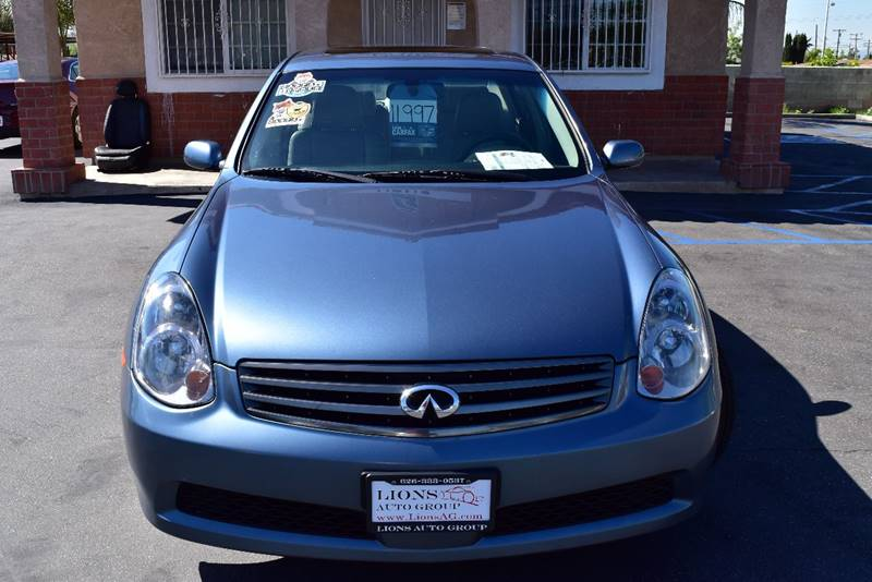 2006 Infiniti G35 for sale at Lions Auto Group in La Puente CA