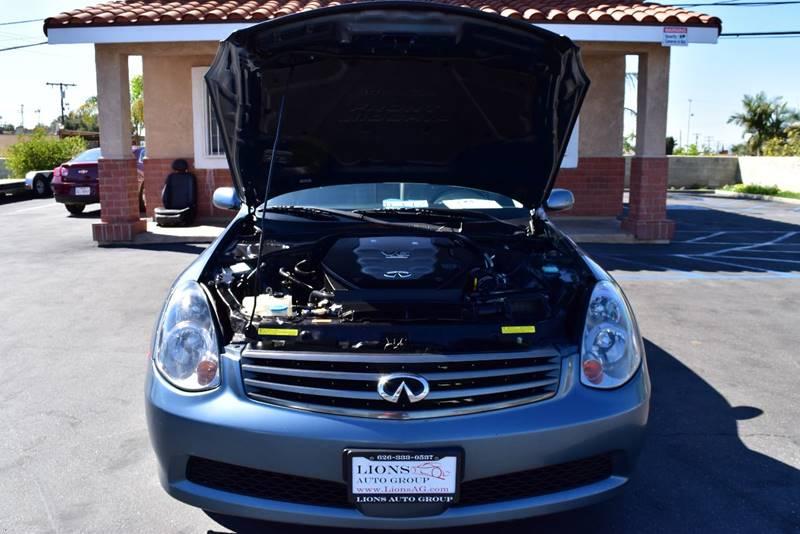 2006 Infiniti G35 for sale at Lions Auto Group in La Puente CA