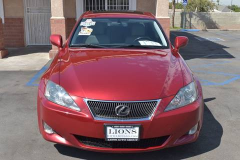 2006 Lexus IS 250 for sale at Lions Auto Group in La Puente CA