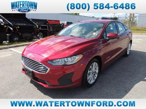 2019 Ford Fusion Hybrid for sale in Watertown, MA