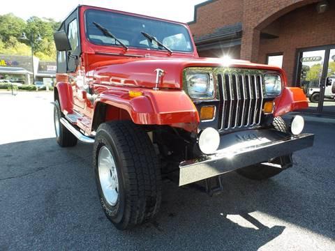 1994 Jeep Wrangler for sale in Cartersville, GA
