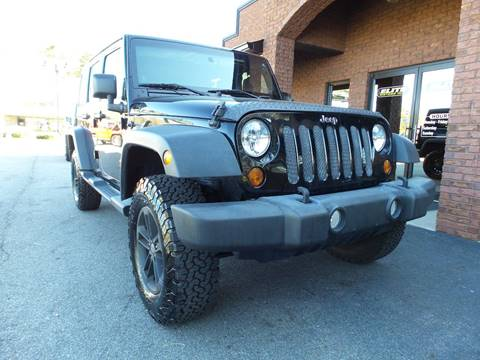 2013 Jeep Wrangler Unlimited for sale in Cartersville, GA