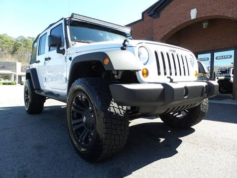 2012 Jeep Wrangler Unlimited for sale in Cartersville, GA