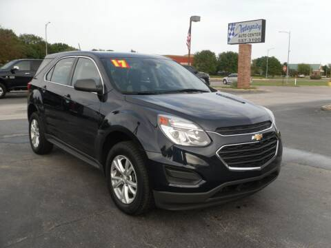 2017 Chevrolet Equinox for sale at Integrity Auto Center in Paola KS