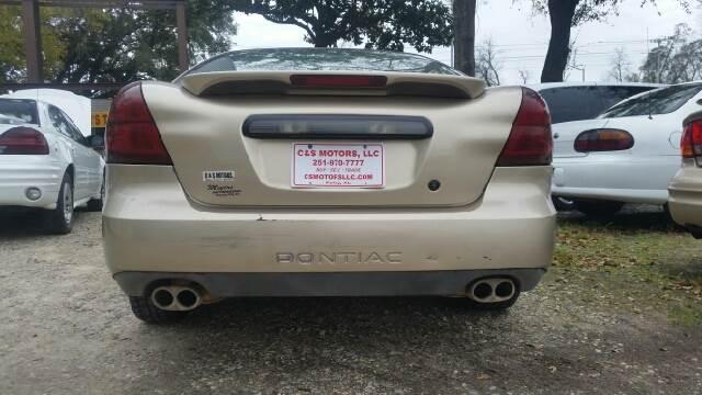 2004 Pontiac Grand Prix GT1 4dr Sedan - Foley AL