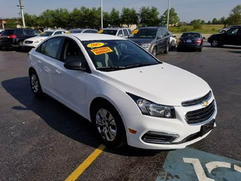 2015 Chevrolet Cruze for sale in Frankfort, IL