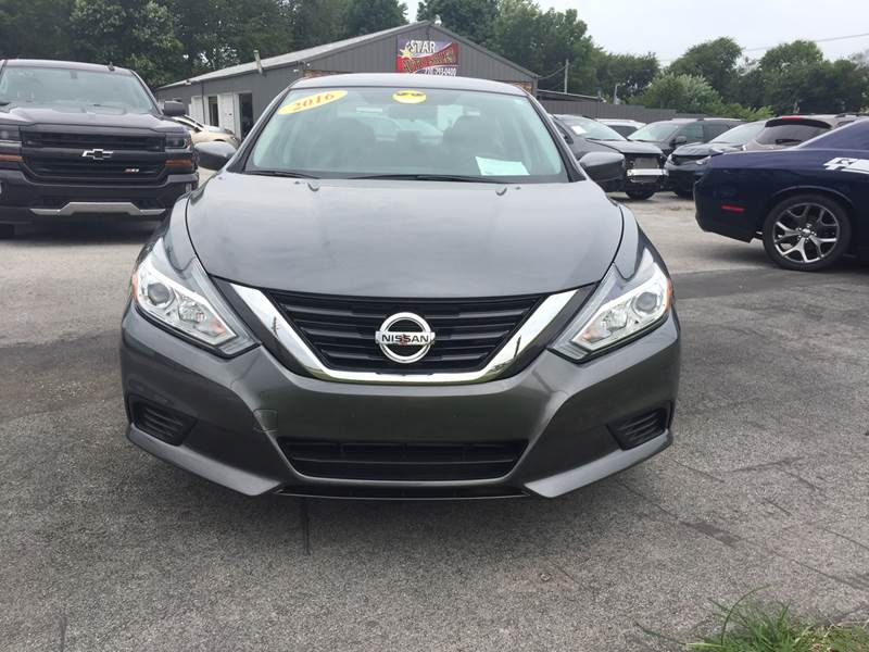 2016 Nissan Altima For Sale At Star Auto Sales In Bowling Green KY