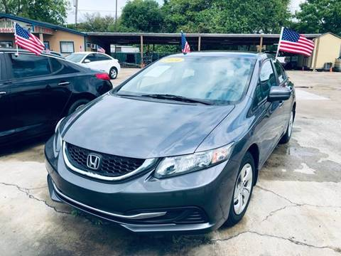 2014 Honda Civic for sale in South Houston, TX