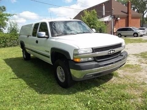 2002 Chevrolet Silverado 2500HD for sale at Martell Auto Sales Inc in Warren MI