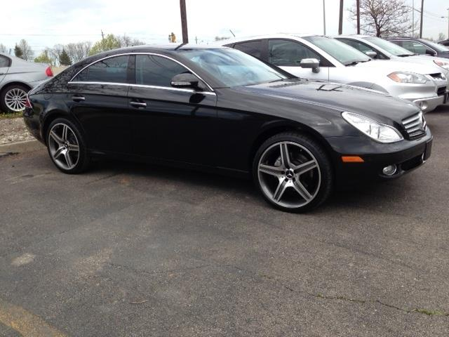 2008 mercedes benz cls550 amg in buffalo ny peninsula import. Black Bedroom Furniture Sets. Home Design Ideas