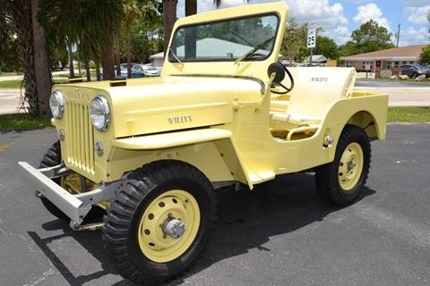 1954 Willys CJ-3A for sale in Englewood, FL