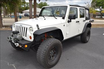 2008 Jeep Wrangler Unlimited for sale in Englewood, FL