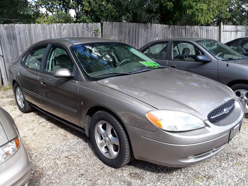 2002 ford taurus ses 4dr sedan in machesney park il - northwoods