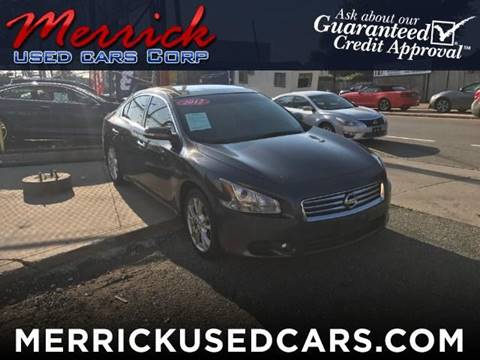 2012 Nissan Maxima for sale in Springfield Gardens, NY