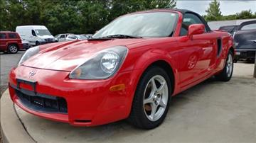 2002 Toyota MR2 Spyder for sale in Charlotte, NC
