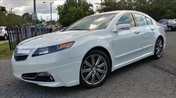 2012 Acura TL for sale in Charlotte, NC