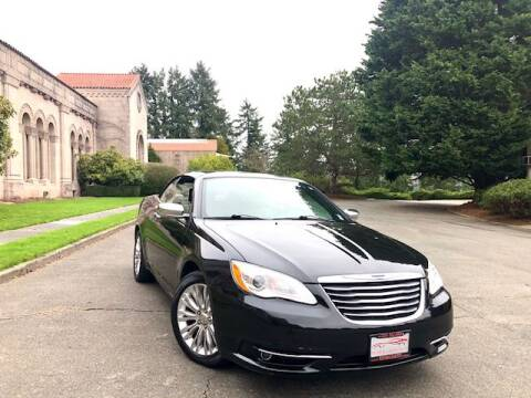 2011 Chrysler 200 Convertible for sale in Seattle, WA
